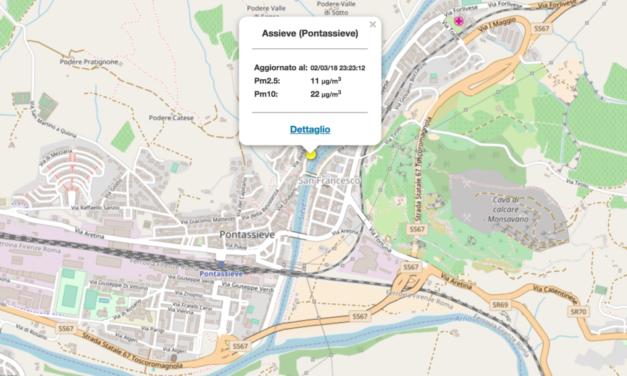 E' ufficiale: Pontassieve ha la sua prima centralina di monitoraggio della qualità dell'aria
