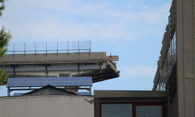 Centraline puntate su demolizione Ponte di Genova